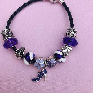 Jewelry - Pandora Purple Pump 👠 Bracelet